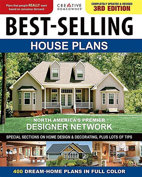 Top Selling House Plans | creative homeowner best selling house plans ebook