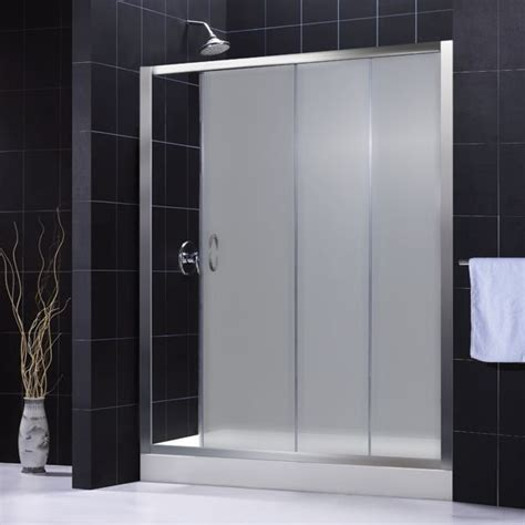Frosted Shower Glass Doors Shower Door Frosted Glass S F Pinterest