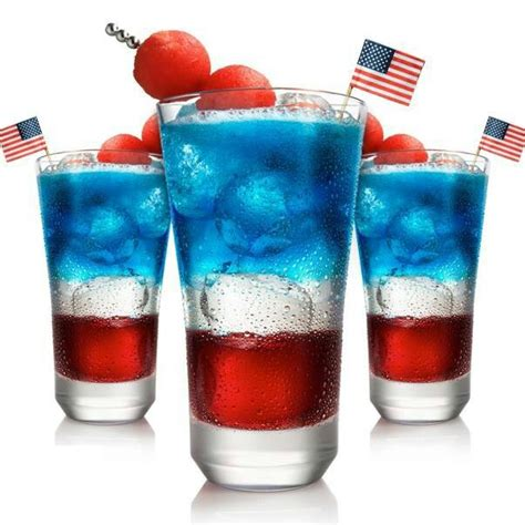 4th of july drink drinks pinterest