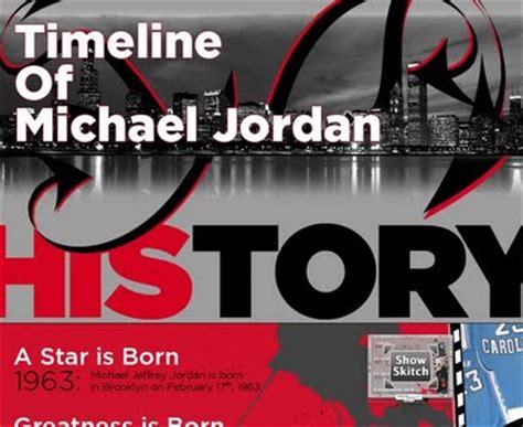 michael jordan biography kid friendly the timeline of michael jordan blog about infographics