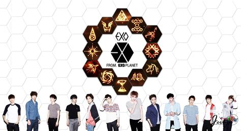 wallpaper exo untuk hp exo symbol wallpaper