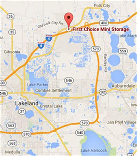lakeland florida map storage lakeland fl best self storage prices rv storage