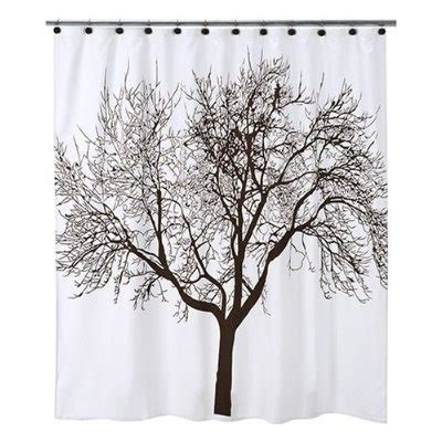 brown tree shower curtain tree shower curtain and shower hook set brown