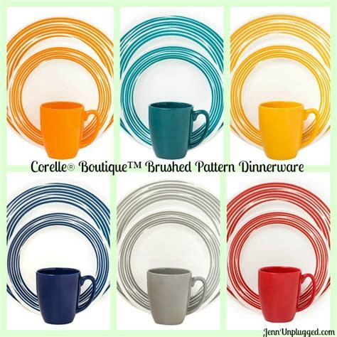 corelle south beach pattern corelle dinnerware exclusively at kohl s corelle jenn