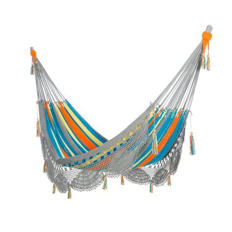 Deluxe Hammock Deluxe Mayan Crochet Hammock Costa