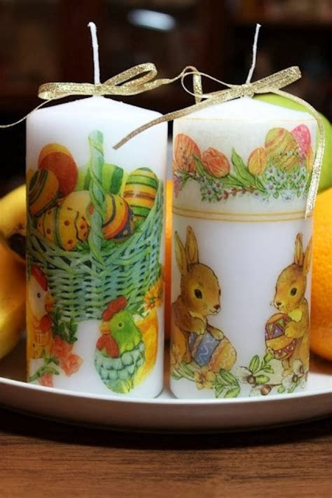 How To Decoupage A Candle - decoupage candle 50 photos master classes with ideas of