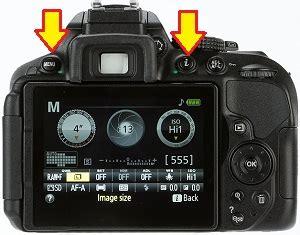 resetting  nikon digital camera  factory default