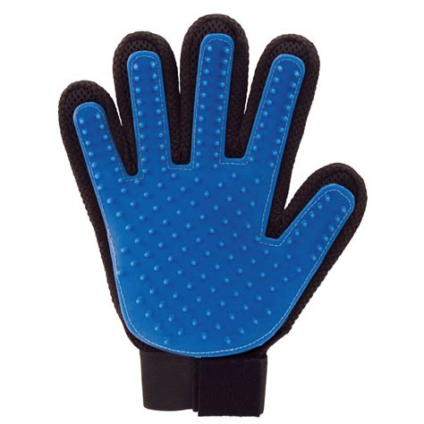 grooming glove true touch silicone pet grooming glove and massager