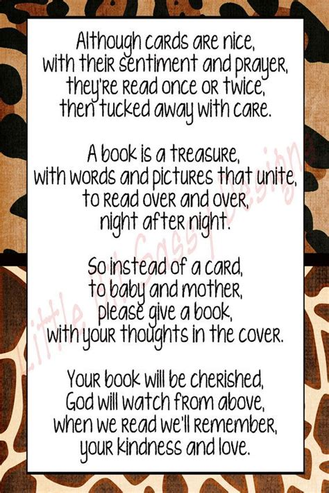 Showers Poem by 25 Best Ideas About Baby Shower Poems On