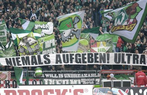Ultras Bremen Aufkleber by Rechte Hooligans Vs Ultras Hochspannung In Werders