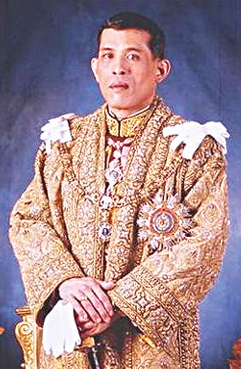 king s thailand s new king shows his strength 187 manila bulletin news