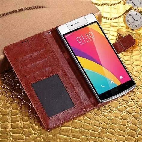 Free Sg Retro Leather Flip Cover Oppo Mirror 5 A51 retro leather for oppo n3 neo 5 a31 mirror 5 5s a51