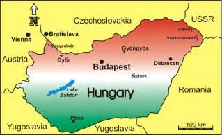 Hungary World Map by Map Of Hungary Republic Of Hungary Maps Mapsof Net