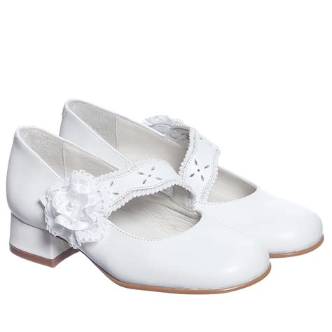 children s classics white leather shoes