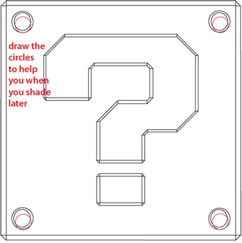 printable mario question mark how to draw a question mark box from nintendo s super