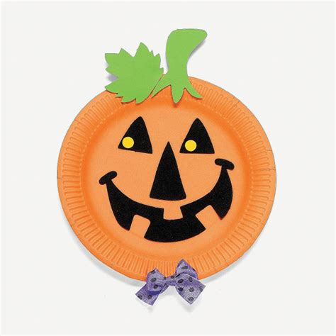 paper plate pumpkin craft discover and save creative ideas