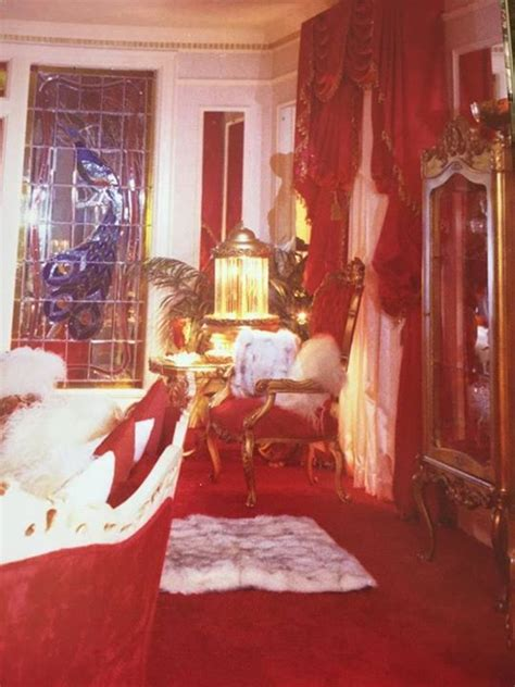 inside elvis bedroom 17 best images about graceland red color on pinterest