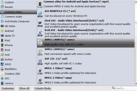 format file wmv dvd vob to wmv open play vob files on windows media player