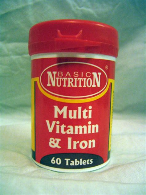 Vitamin Iberet Multivitamins With Iron Patient Information Description