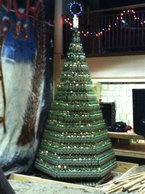beer bottle christmas tree bottle tree 3384 bottles pics