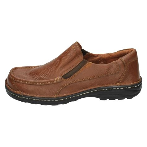 mens spot on casual shoes leather ebay
