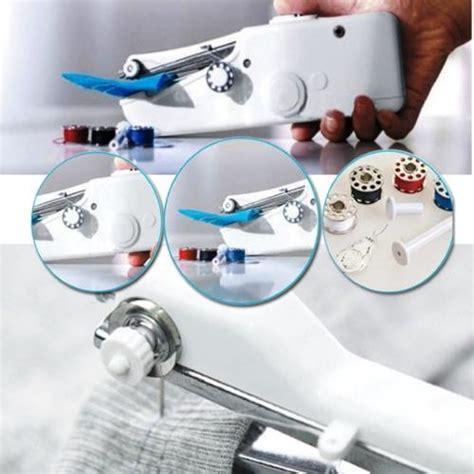 Mesin Jahit Tangan Portable Handy Stitch aiueo handy stitch mesin jahit tangan portabel lazada indonesia