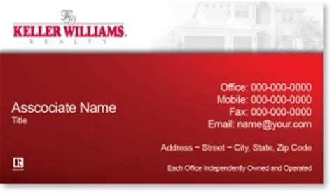 Keller Williams Buisness Card Template by Keller Williams Business Card Template Keller Williams