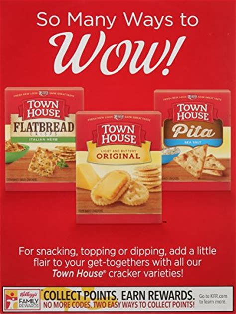 town house pita chips town house pita crackers sea salt 9 5 ounce food beverages tobacco food items snack