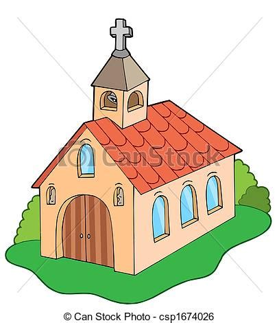 clipart chiesa estilo europeo iglesia estilo illustration