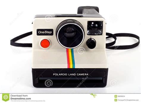 retro polaroid vintage polaroid land onestep editorial stock image