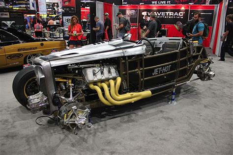 sema  jet hot shows   finished awd deuce coupe rod authority