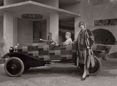 sonia delaunay planes prints  automobiles art