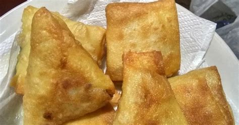 Samosa Isi Daging samosa isi ayam 35 resep cookpad