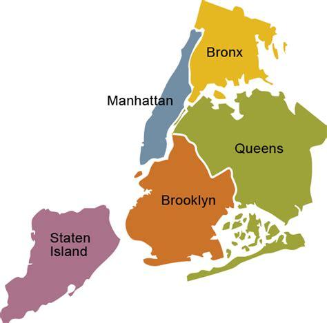 map of new york city boroughs opinions on borough new york city