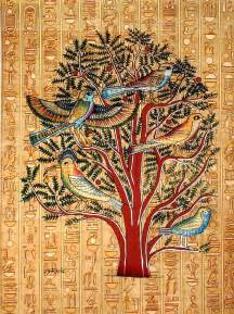 live tree sales ancient on papyrus unique handmade