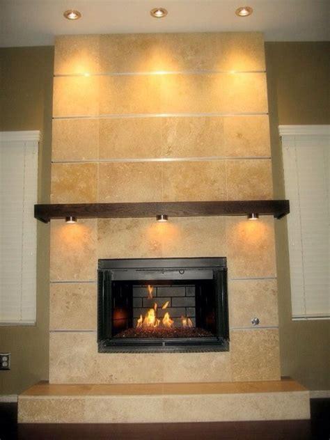 travertine fireplace travertine fireplace