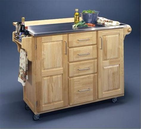 movable island for kitchen movable kitchen islands casual cottage