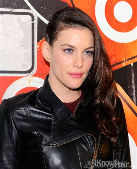 head shave liv tyler side braid hairstyle braided hairstyles