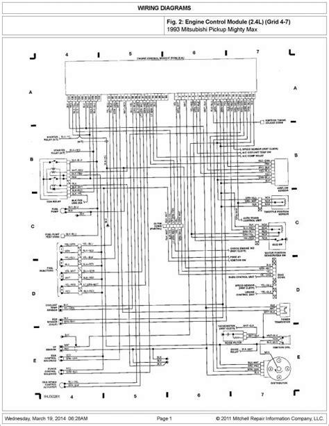 service manuals schematics 1995 mitsubishi truck instrument cluster 1990 mitsubishi mighty max electrical diagram mitsubishi auto parts catalog and diagram