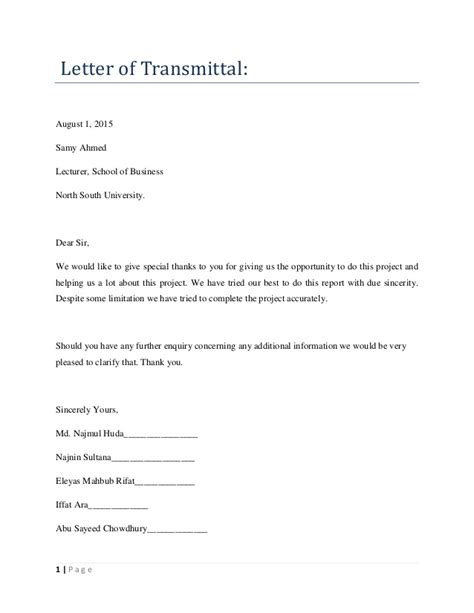 Transmittal Letter Business Plan Business Plan Of Coffee Flavour