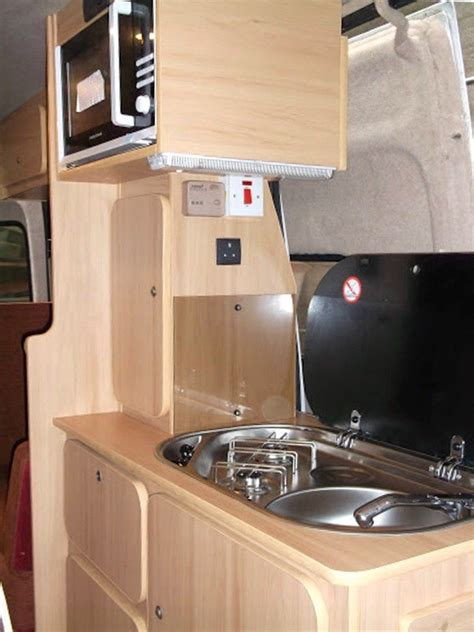 Sink Designs Oven And Sink Fitted In A Camper Conversion By C 233 Ide