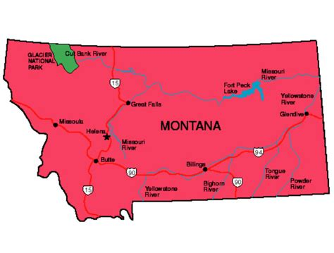 montana state pictures montana facts symbols tourist attractions