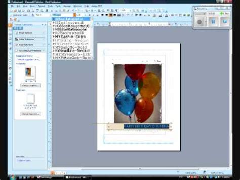 how to make a greeting card in word wblqual com