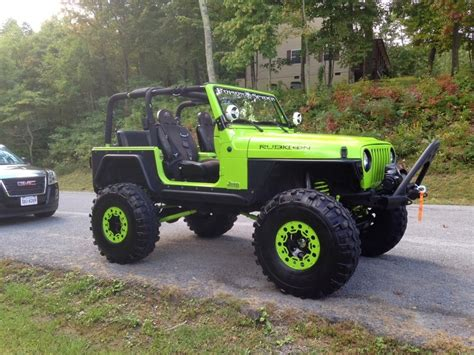 jeep yj custom the coolest custom 1997 jeep wrangler auto restorationice
