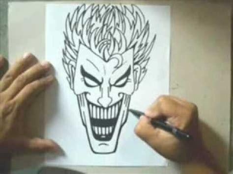imagenes del guason para dibujar faciles c 243 mo dibujar a un joker youtube