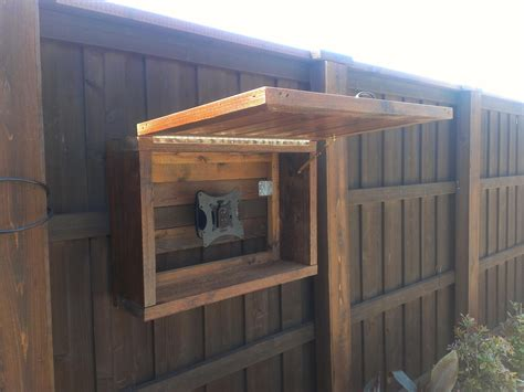 outdoor tv cabinetry