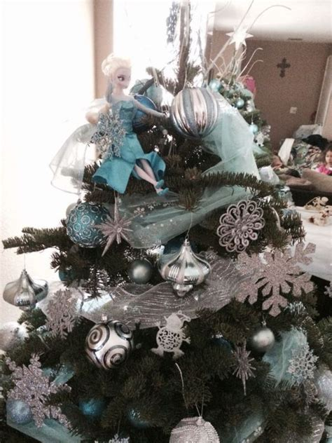 frozen themed christmas lights 25 all time favorite disney christmas tree decorations