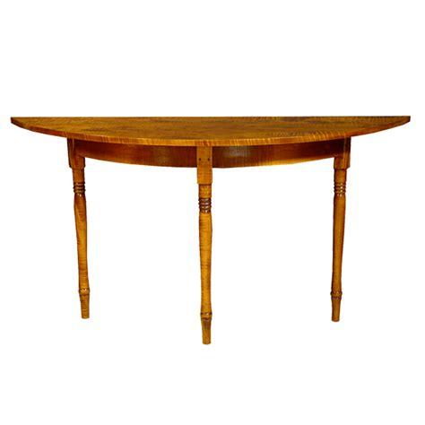 demilune sofa table d r dimes shaker demilune table occasional tables sofa