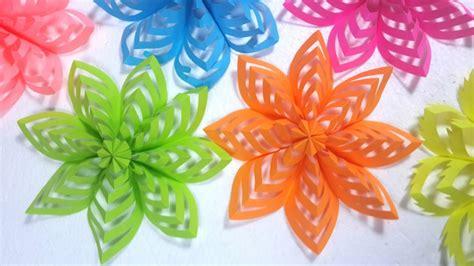 Things To Make With Coloured Paper - manualidades de papel para decorar los interiores de las