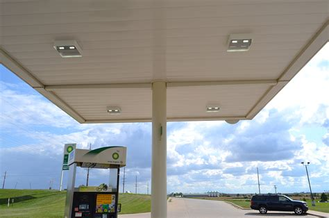 gas station canopy lighting levels activeled canopy lighting and canopy lighting systems